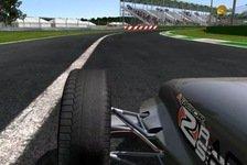 Games - rFactor 2: Interessanter Blick auf die Reifen