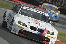 USCC - BMW mit beiden Autos auf Podium