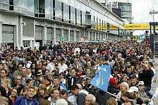 DTM - Fan-Service: Racoon heizt in der Lausitz ein