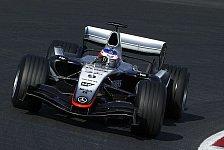 Formel 1 - Der erste Testtag im Leben einer Ente