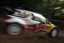 WRC - Ungewöhnliche Reifenwahl bei Citroen