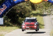 WRC - Mini von Meeke beeindruckt