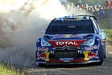 WRC - Citroen will den Titel klarmachen