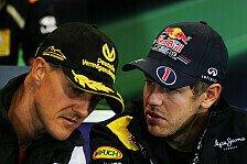 Formel 1 - Vettel: Hätte Michael so gerne um Rat gefragt