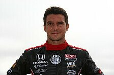 IndyCar - Pantano vertritt verletzten Kimball