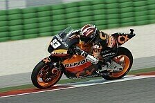 Moto2 - Marquez siegt in Aragon - Bradl hat Pech
