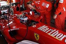 Formel 1 - Ferrari: Andrea Bertolini schloss Aerodynamiktets in Vairano ab