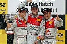 DTM - Bilder: Brands Hatch - Sonntag