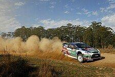 WRC - Hirvonen führt nach erstem Tag in Australien