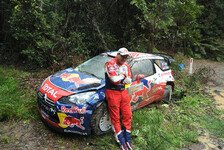 WRC - Loeb war nicht konzentriert