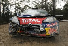 WRC - Ogier zerstörte seinen Kühler
