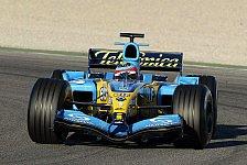 Formel 1 - Roll-Out: Renault R25 debütierte in Valencia