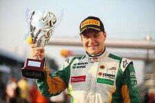 Britische F3 - Siege für Bottas und Magnussen