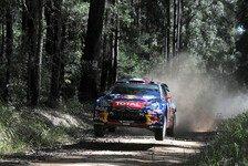 WRC - Loeb nicht glücklich mit Ergebnis