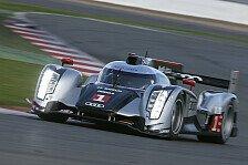 WEC - Audi testet LMP1-Sportwagen für 2012