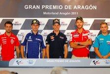 MotoGP - Pressekonferenz zum GP von Aragon