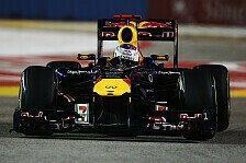Formel 1 - Vettel holt sicheren Sieg in Singapur