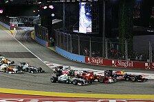 Formel 1 - Singapur GP: Die Teamvorschau