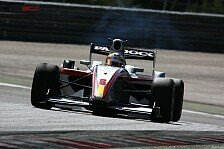Formel 2 - Monras am ersten Tag Schnellster