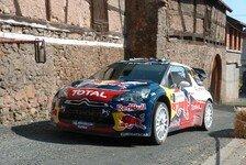 WRC - Rallye Frankreich, Tag 2: Ogier mit Vorsprung
