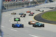 IndyCar - Franchitti fährt gegen das ganze Feld