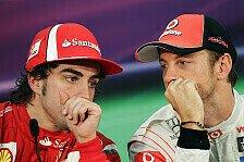 Formel 1 - Gerücht - McLaren: Button raus, Alonso rein?