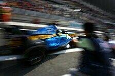 Formel 1 - Giancarlo Fisichella hat zu viel Speed