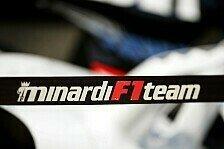 Formel 1 - Gian Carlo Minardi: Ich habe den Namen verschenkt