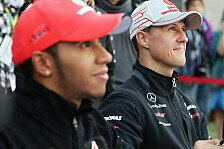 Formel 1 - Schumacher-Fanclub vs. Lewis Hamilton
