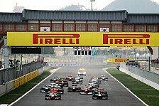 Formel 1 - Rennkalender 2015: Korea GP gestrichen