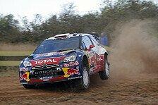 WRC - Loeb bleibt an der Spitze in Spanien