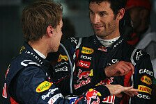 Formel 1 - Vettel: Auch Webber kommt nicht zurecht