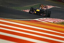 Formel 1 - Red-Bull-Piloten schwärmen vom Kurs in Indien