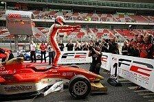 Formel 2 - Bester Rookie bekommt Test-Belohnung