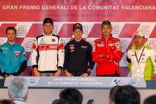 MotoGP - Valencia-Pressekonferez im Zeichen Simoncellis