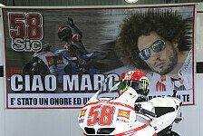 MotoGP - Sepang und MotoGP ehren Simoncelli