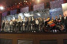 MotoGP - WM-Trophäen in Valencia verliehen