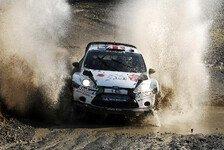 WRC - Wilson: Wieder im Schotter-Rhythmus