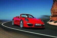 Auto - Porsche präsentiert in Detroit das 911 Cabrio