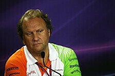 Formel 1 - Force India: Motorenkrieg - Nein, Danke