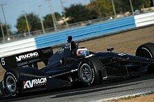 IndyCar - Wilson vom neuen Boliden überrascht