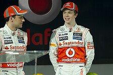 Formel 1 - Paffett, Turvey, Magnussen bei Young Driver Test