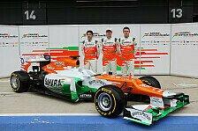 Formel 1 - Force India stellt neues Auto in Silverstone vor