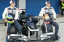 Formel 1 - Senna & Maldonado enthüllen Williams FW34