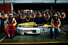 Formel 1 - Hill schlägt Williams Honda-Motoren vor