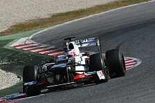 Formel 1 - Barcelona: Kobayashi-Bestzeit am letzten Tag