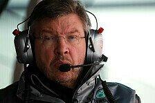 Formel 1 - Brawn: Breite Spitze kein Dauerzustand