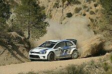 WRC - Volkswagen testet in Mexiko