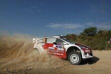 WRC - Griechenland: Novikov und Tanak wollen ankommen