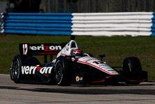 IndyCar - Power mit Freitagsbestzeit